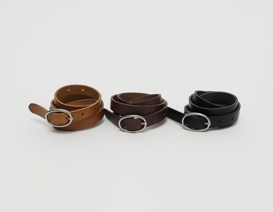 Ellipse buckle belt_C