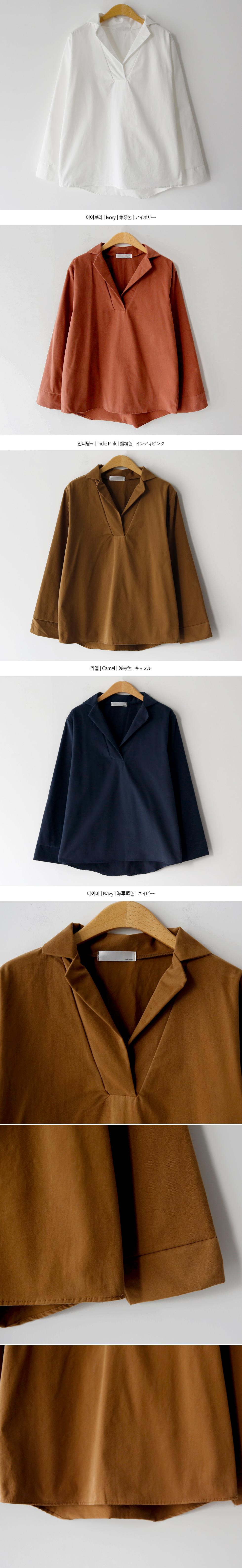 Pitch semi-open shirt