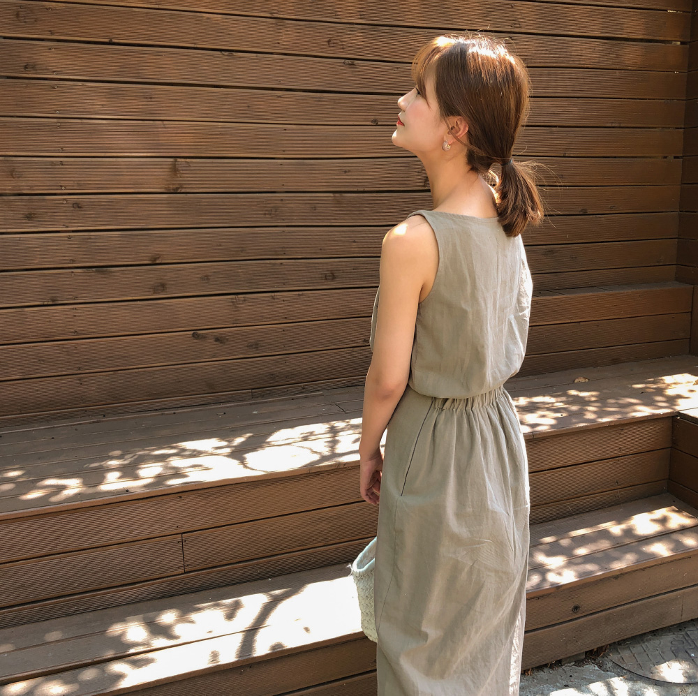Daily Linen Sleeveless-sv