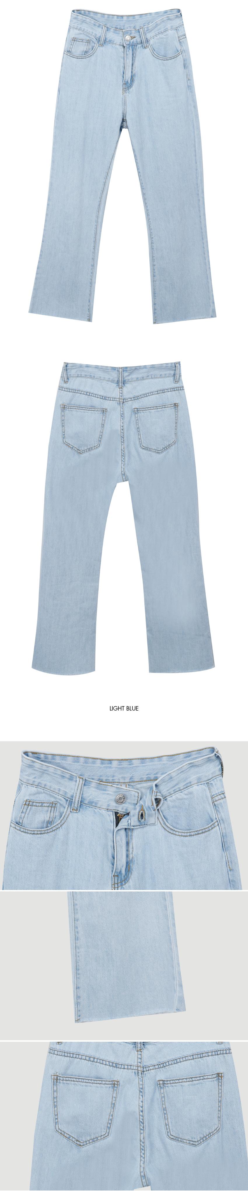 6776 Date Boots Cut Pants