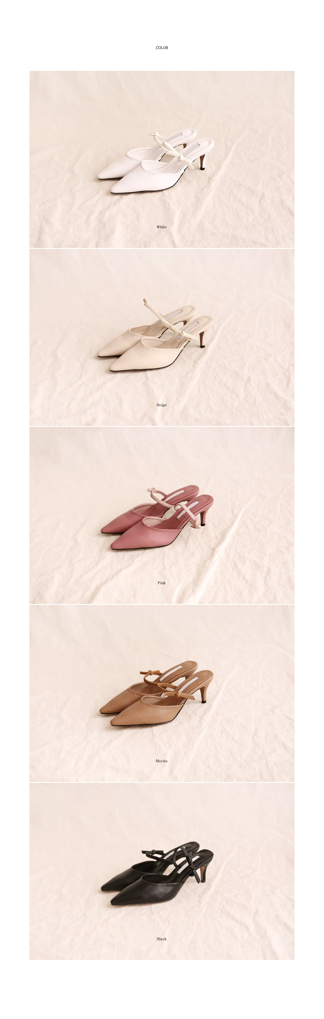 5 COLOR AILEEN MULE SLIPPER