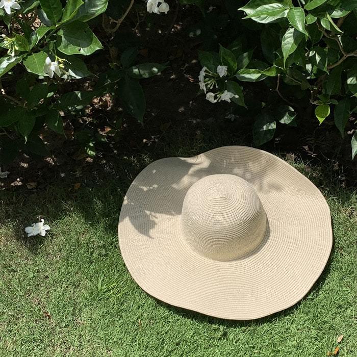 Beach Frill Wide Hat