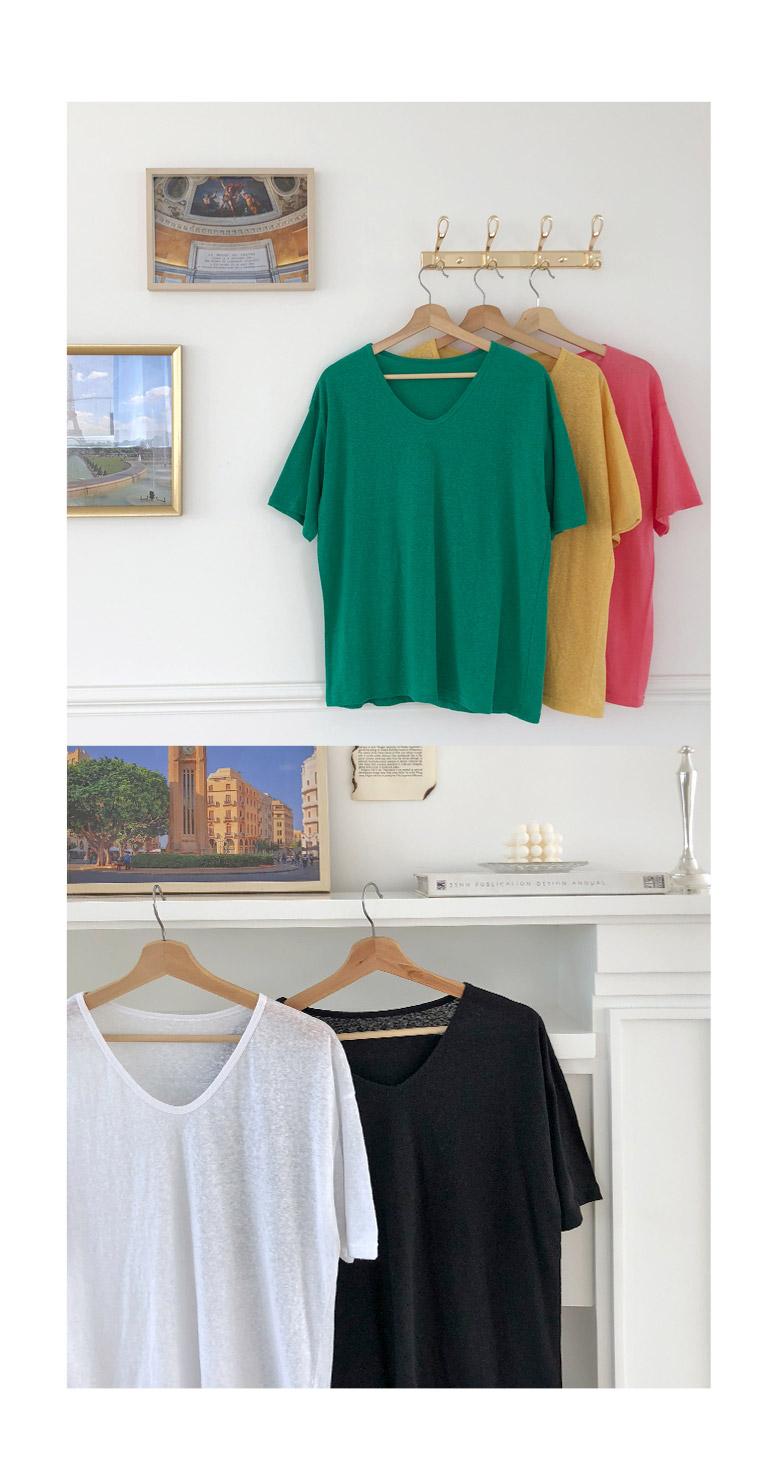 Shabet V neck t-shirt