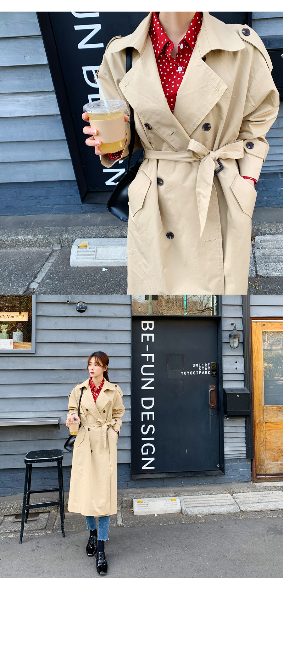 Broad Trench Coat