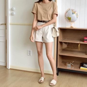 Maxi Linen Short Pants