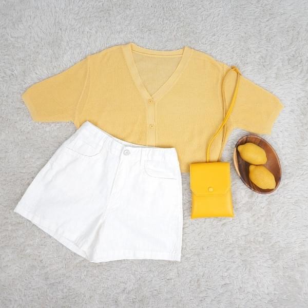 Maschin short sleeve cardigan