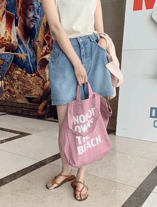 Big lettering eco bag _Y