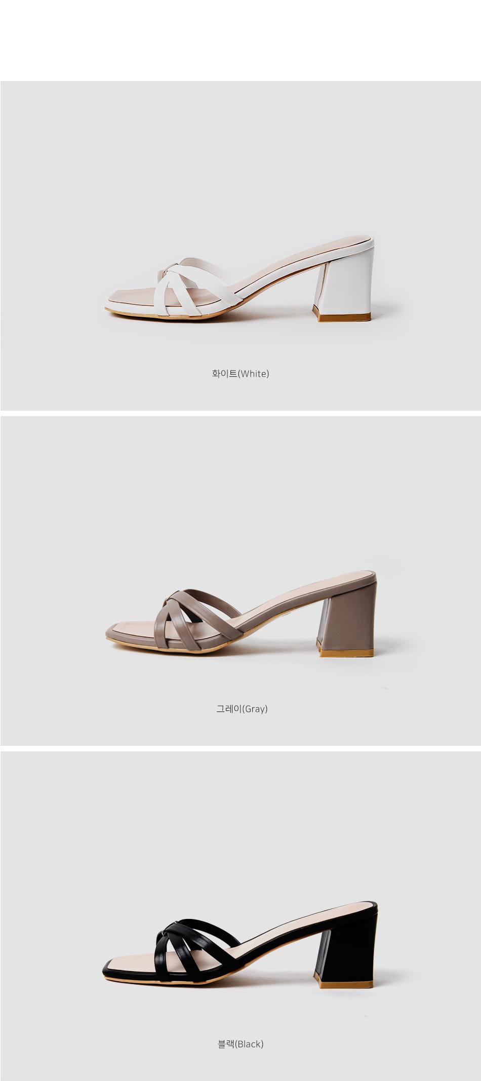 Lebanese mules slippers 6cm
