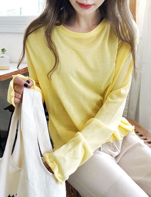 Back reversed knit