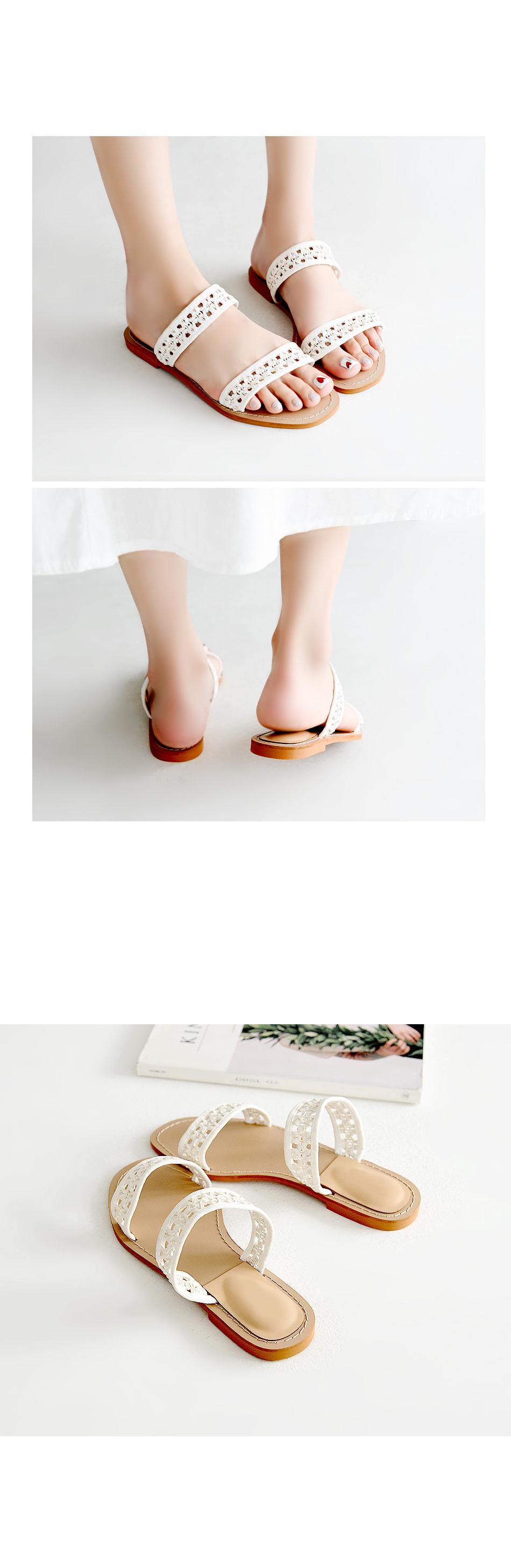 Jieck Slippers 1cm