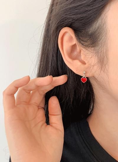 Barken Heart Earrings SET
