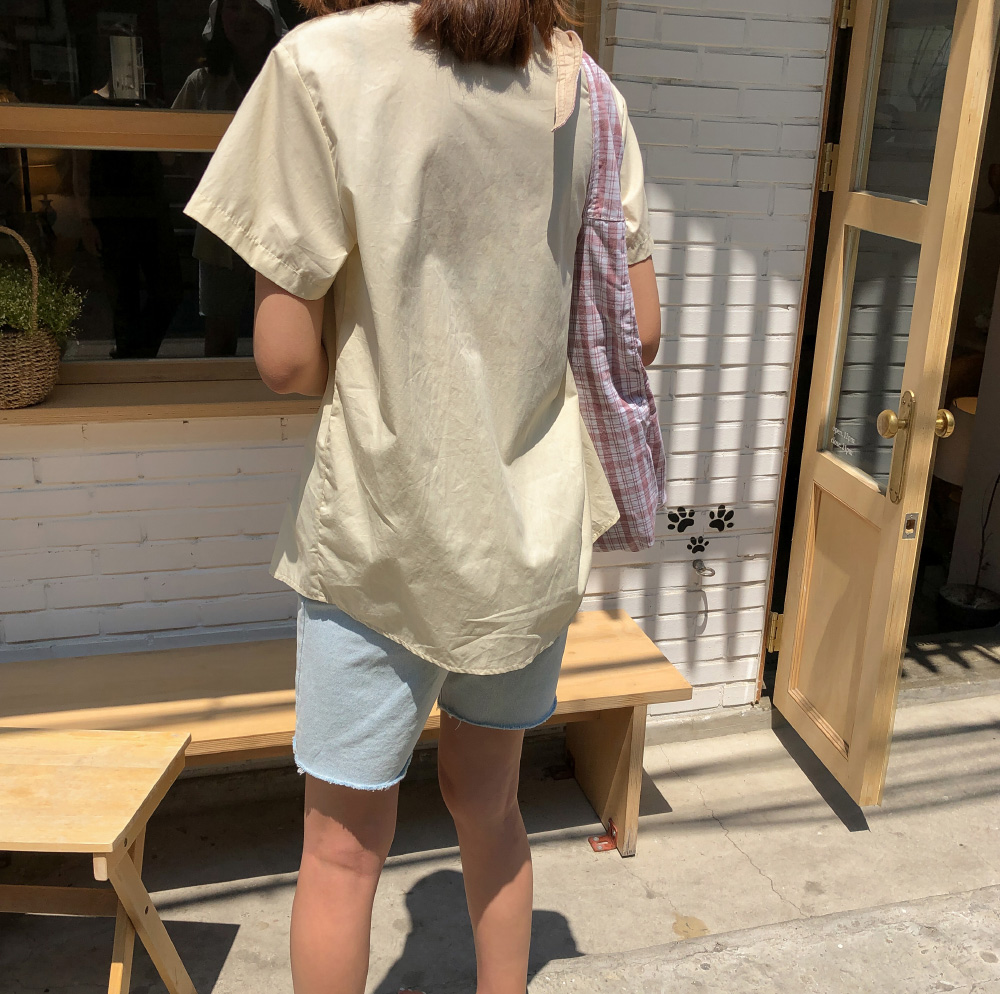 half sleeves color shirts