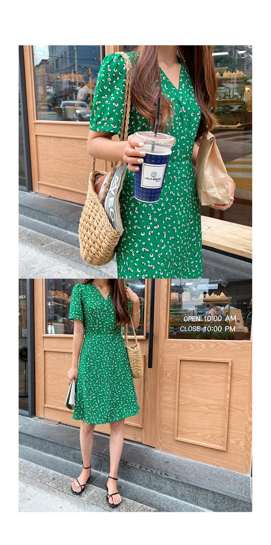 Fling Flower Mini Dress