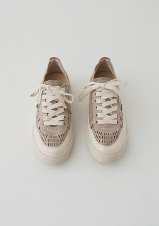 charming net sneakers
