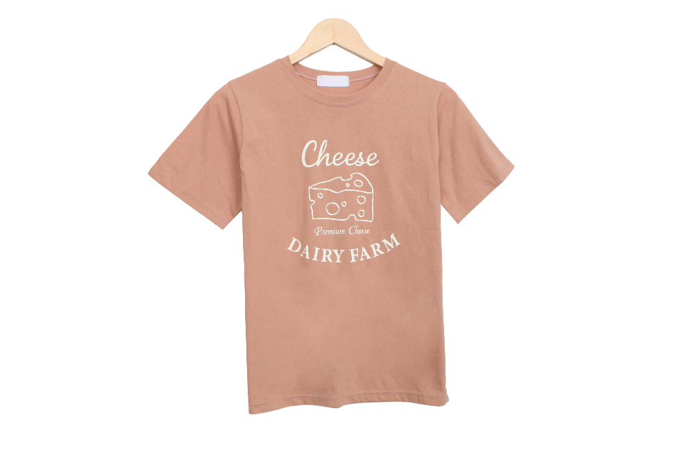 Cheese short sleeve T