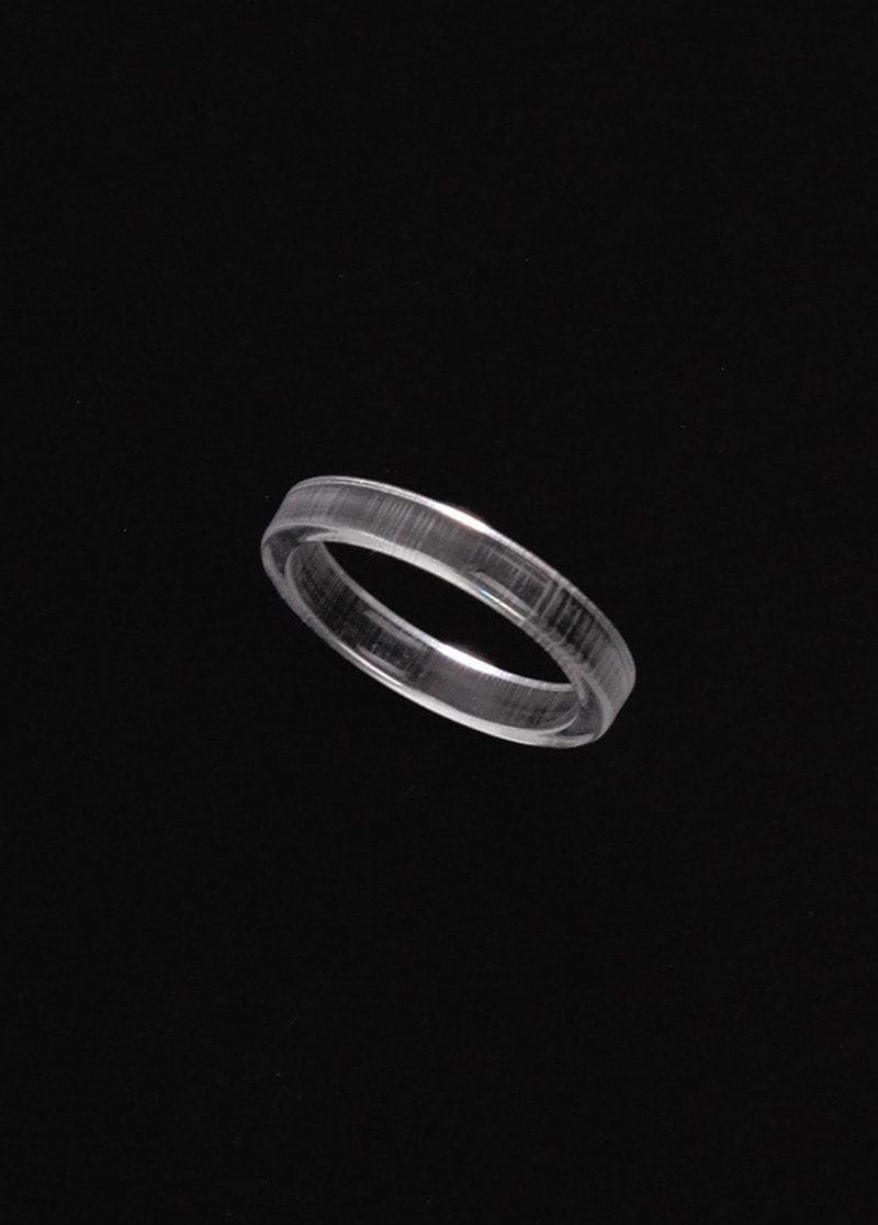 clear simple ring