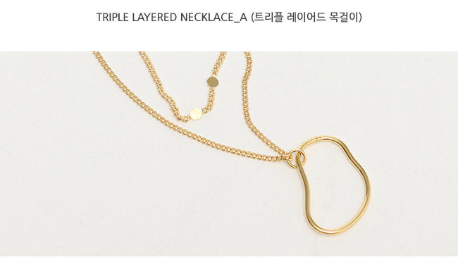 Triple layered necklace_A