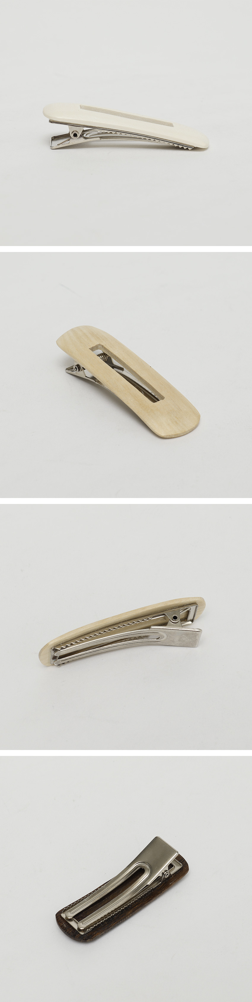 Wood hole hair pin_A