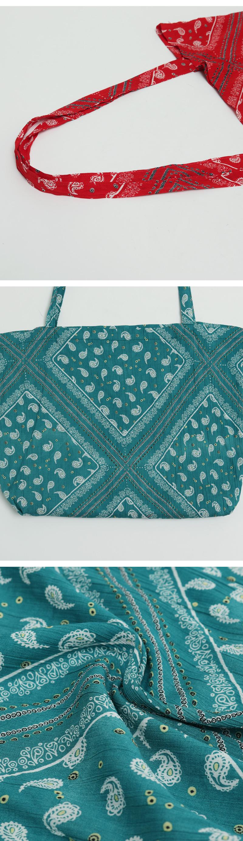 Paisley slim eco bag_H