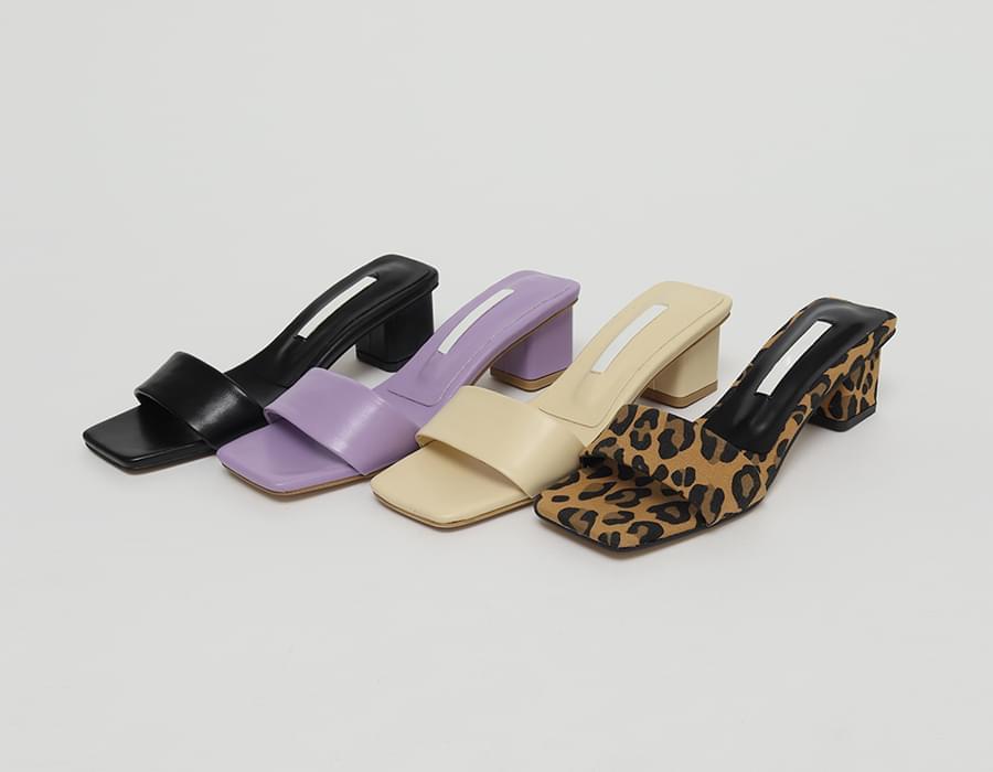 Mary middle heel slipper_J