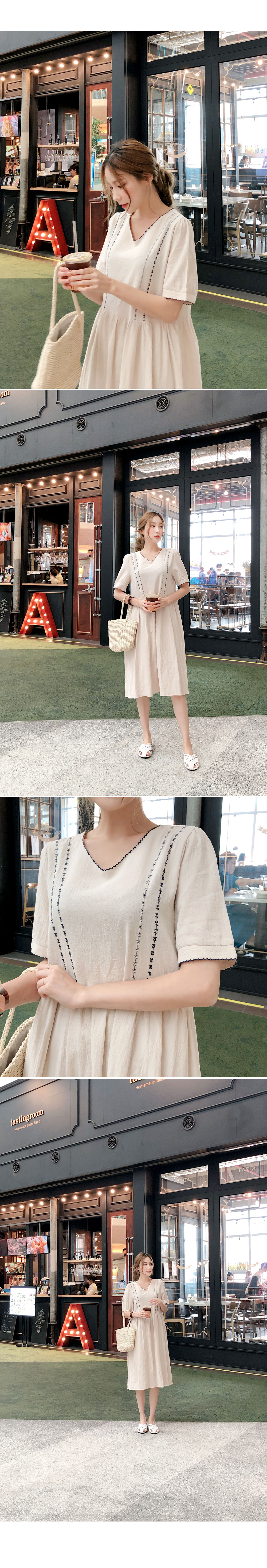 Lovely embroidery dress