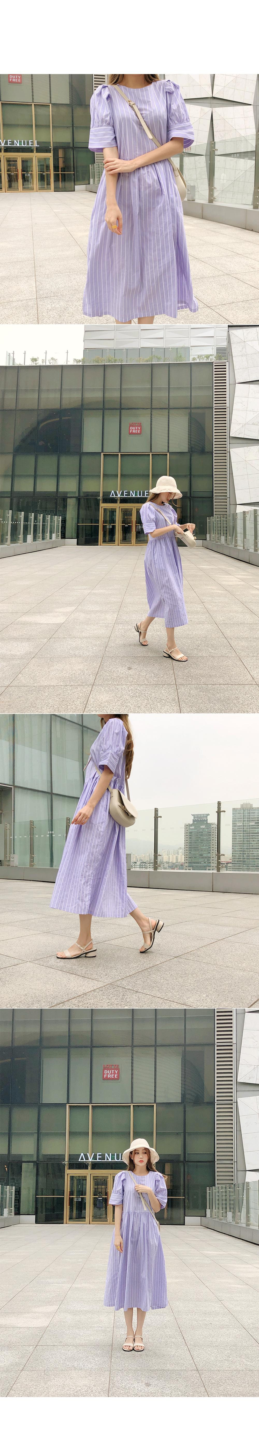 Daily Puff Sleeve Dress