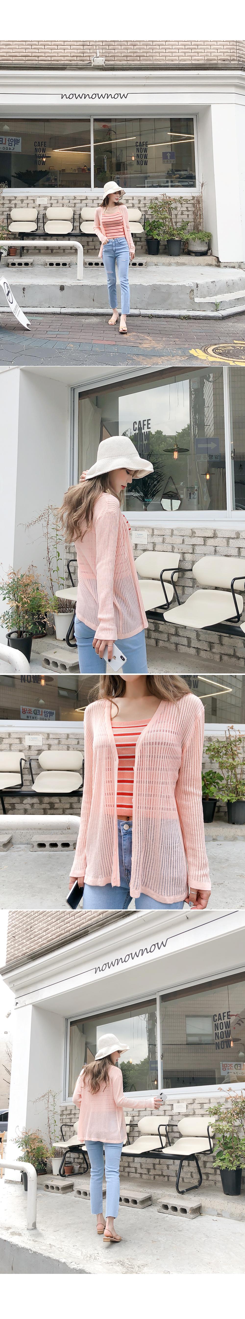Colored slim knit