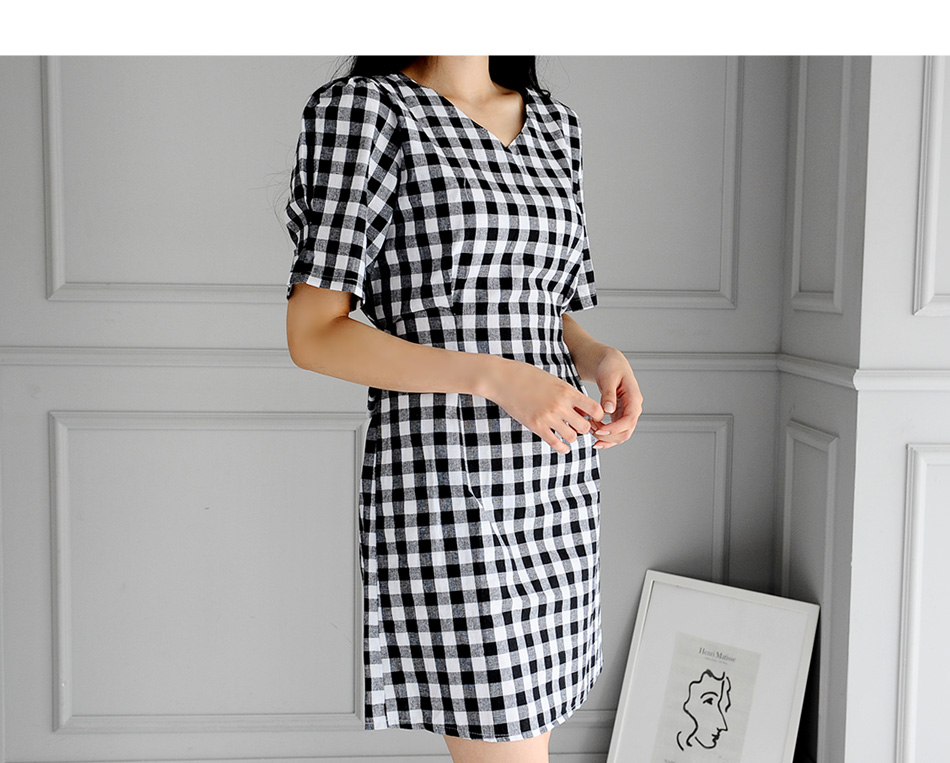 Forbes Check Dress