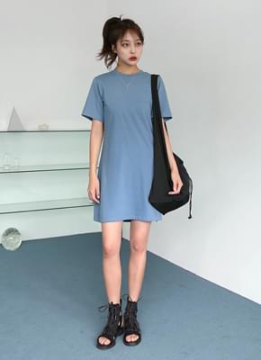 Basic Cotton Mini Dress