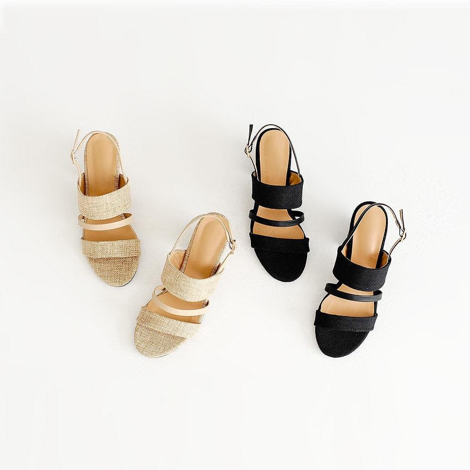 Petite asling bag sandals 6cm