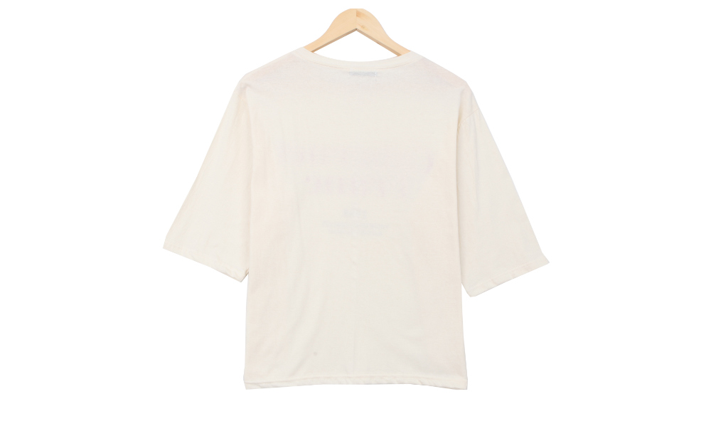 Carved box short sleeve T