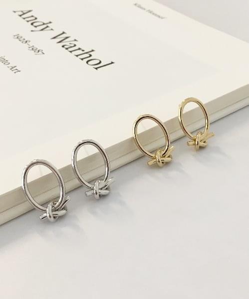 round twist earring