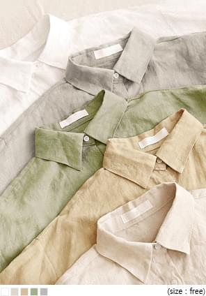 5 COLOR OPULENT LINEN 100% SHIRTS