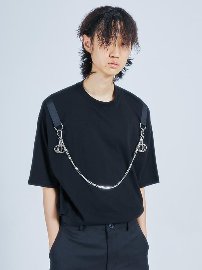 chain round 1/2 T - men