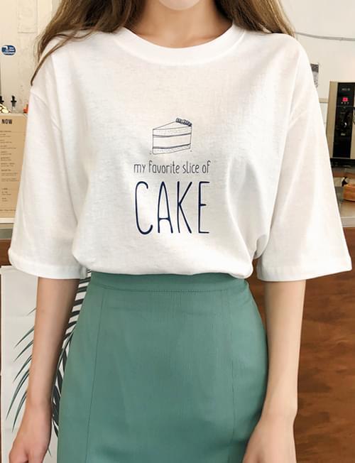 Drawing cake tee