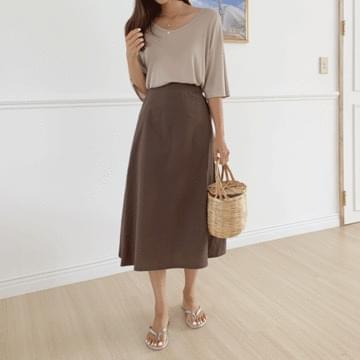 Polem Flare Long Skirt