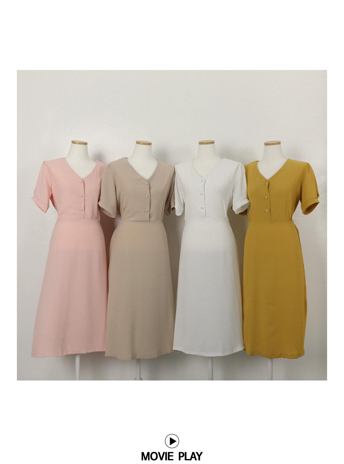 Spencer V Long Dress