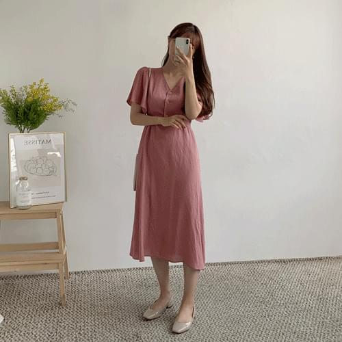 Frilly Long Long Dress