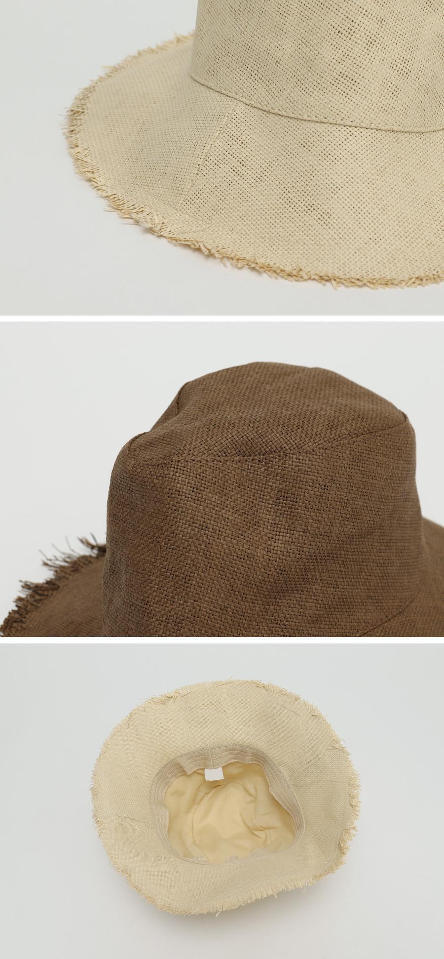 Nut paper bucket hat_Y