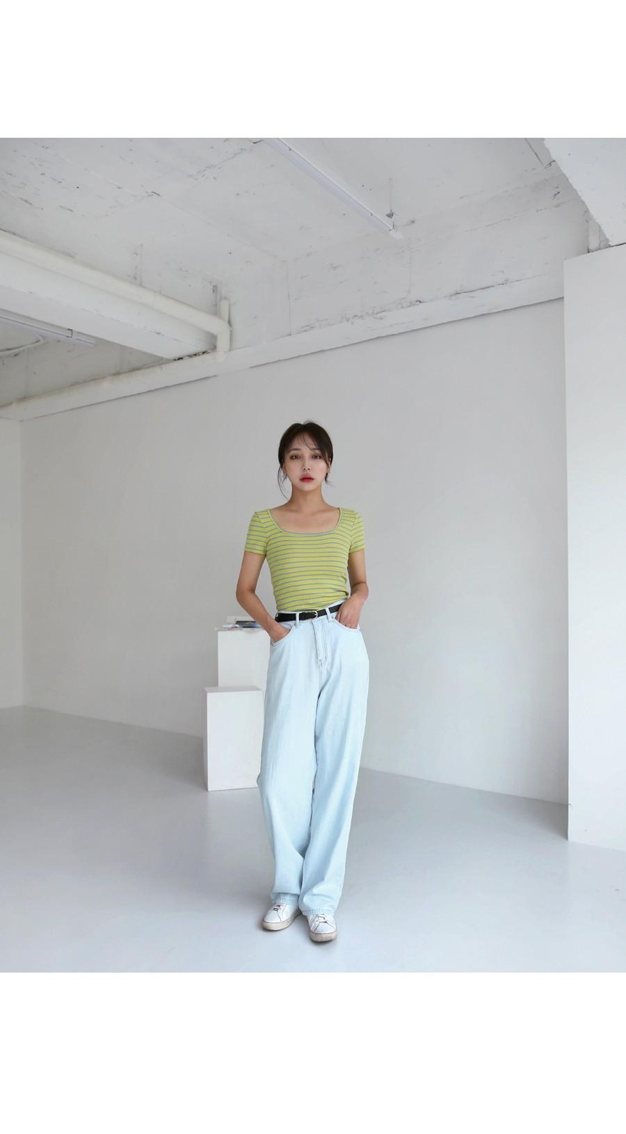 오션 루즈핏 데님 팬츠 (2colors)