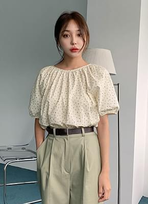 Blossom shearing blouse