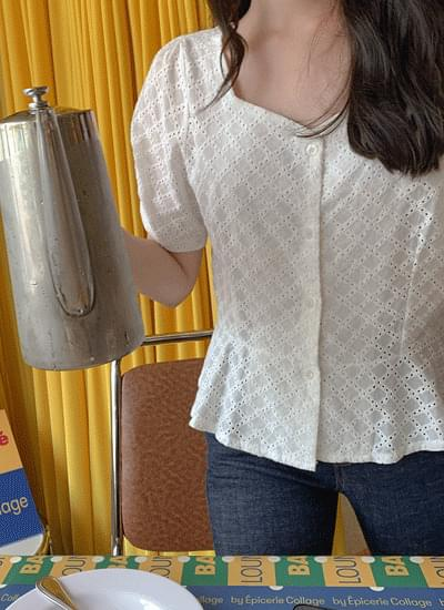 Paloma Punching Blouse