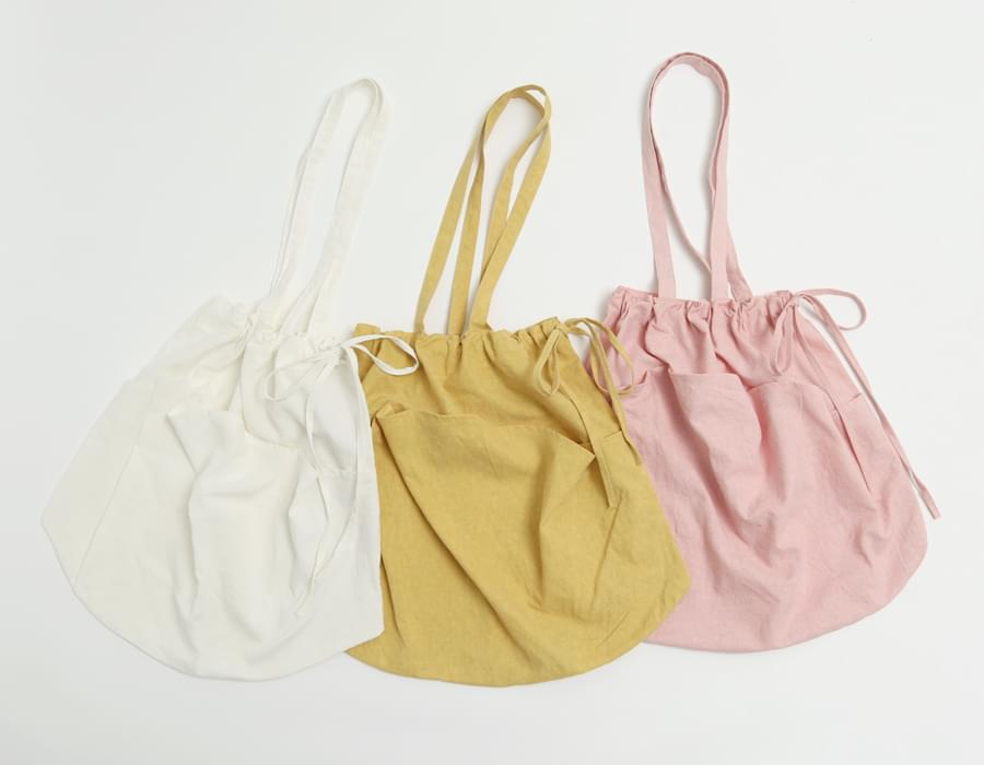 Pocket string eco bag_H