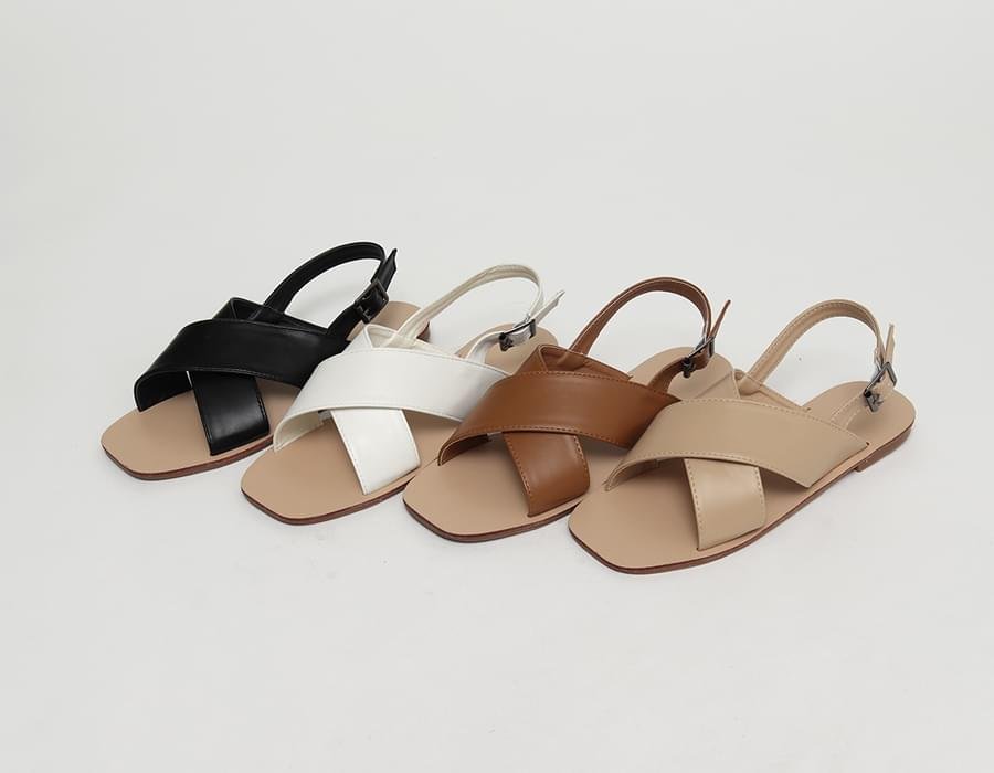Broad x-strap sandal_J