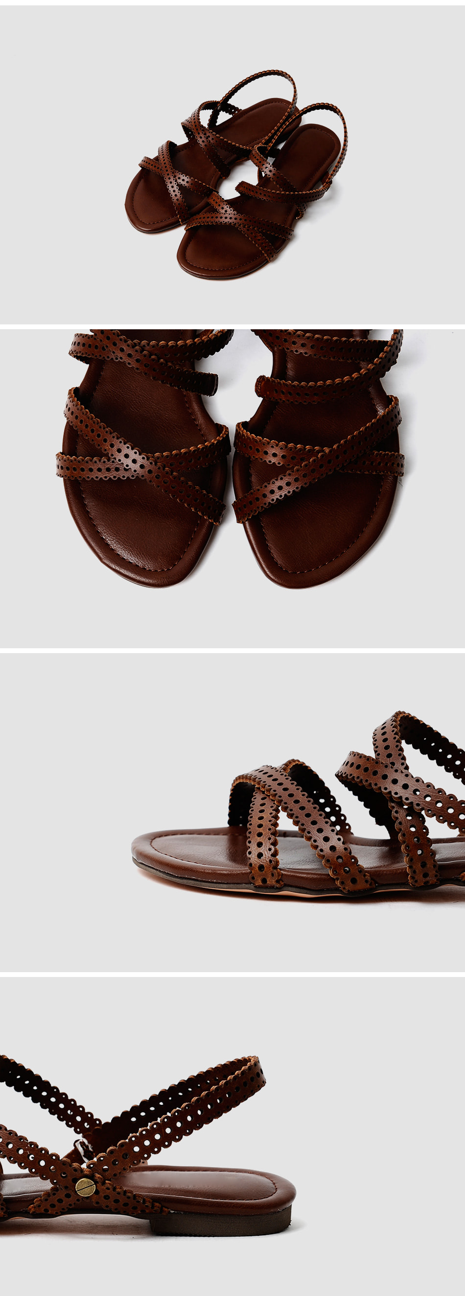 Leoton Slingback Sandals 1cm