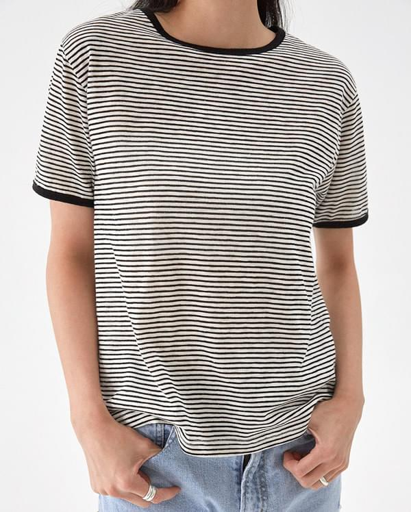 cleo basic stripe T