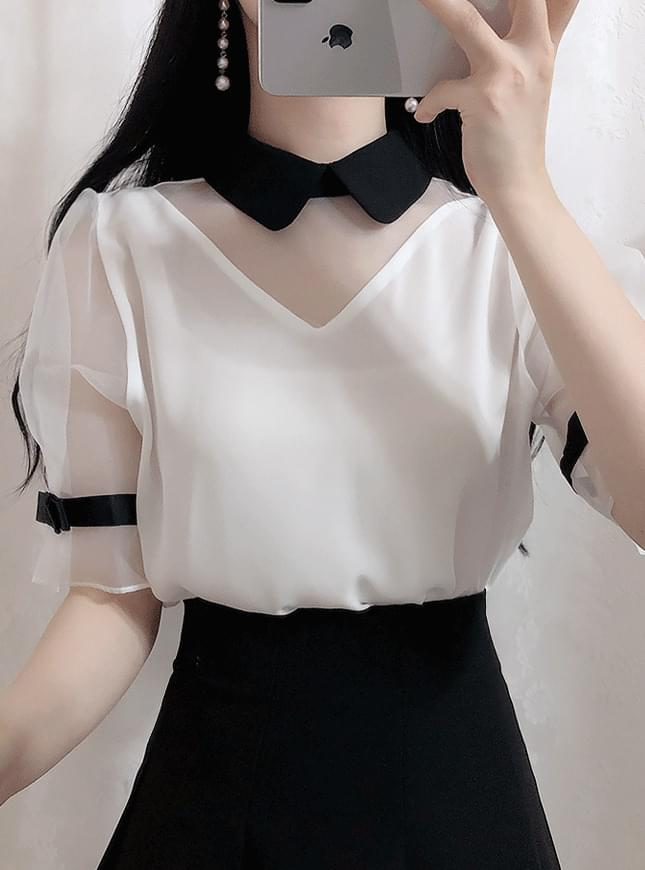 ♥ Sisley Ribbon Blouse