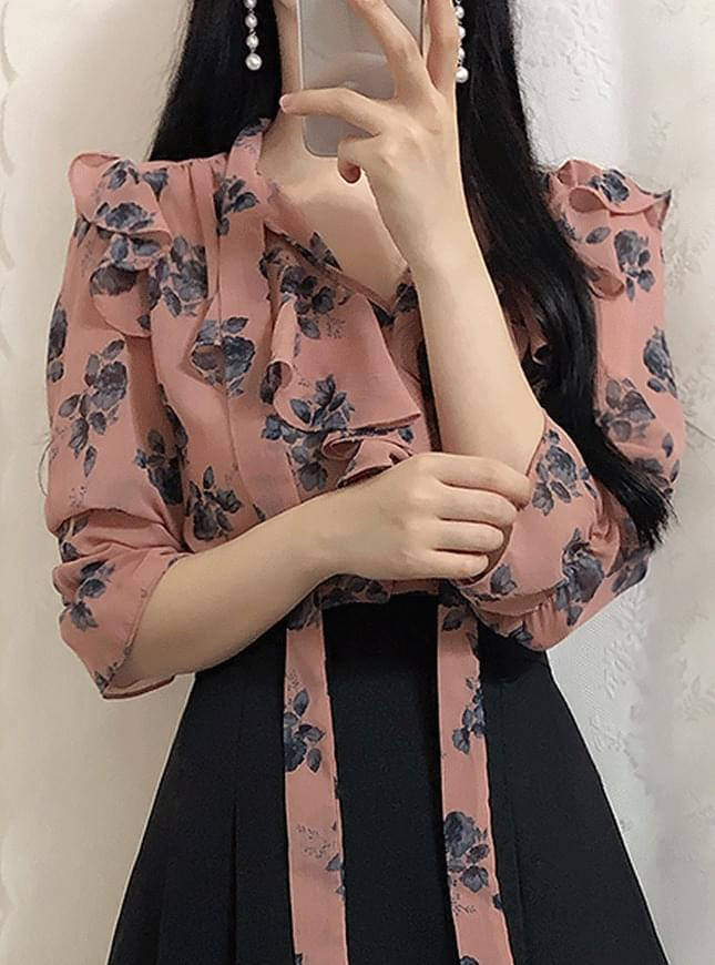 Baby flower blouse