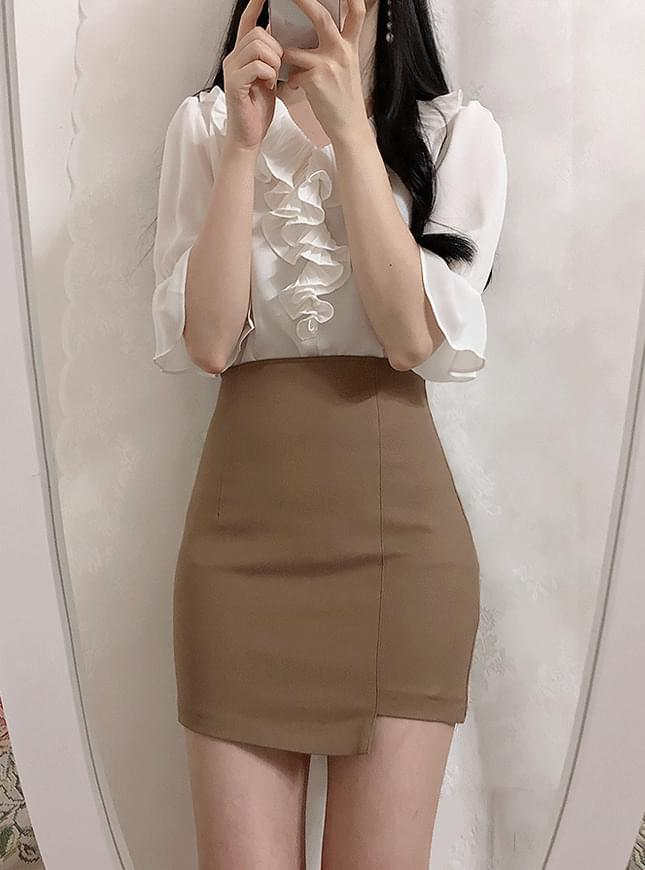 Slim Unhappy Mini Skirt
