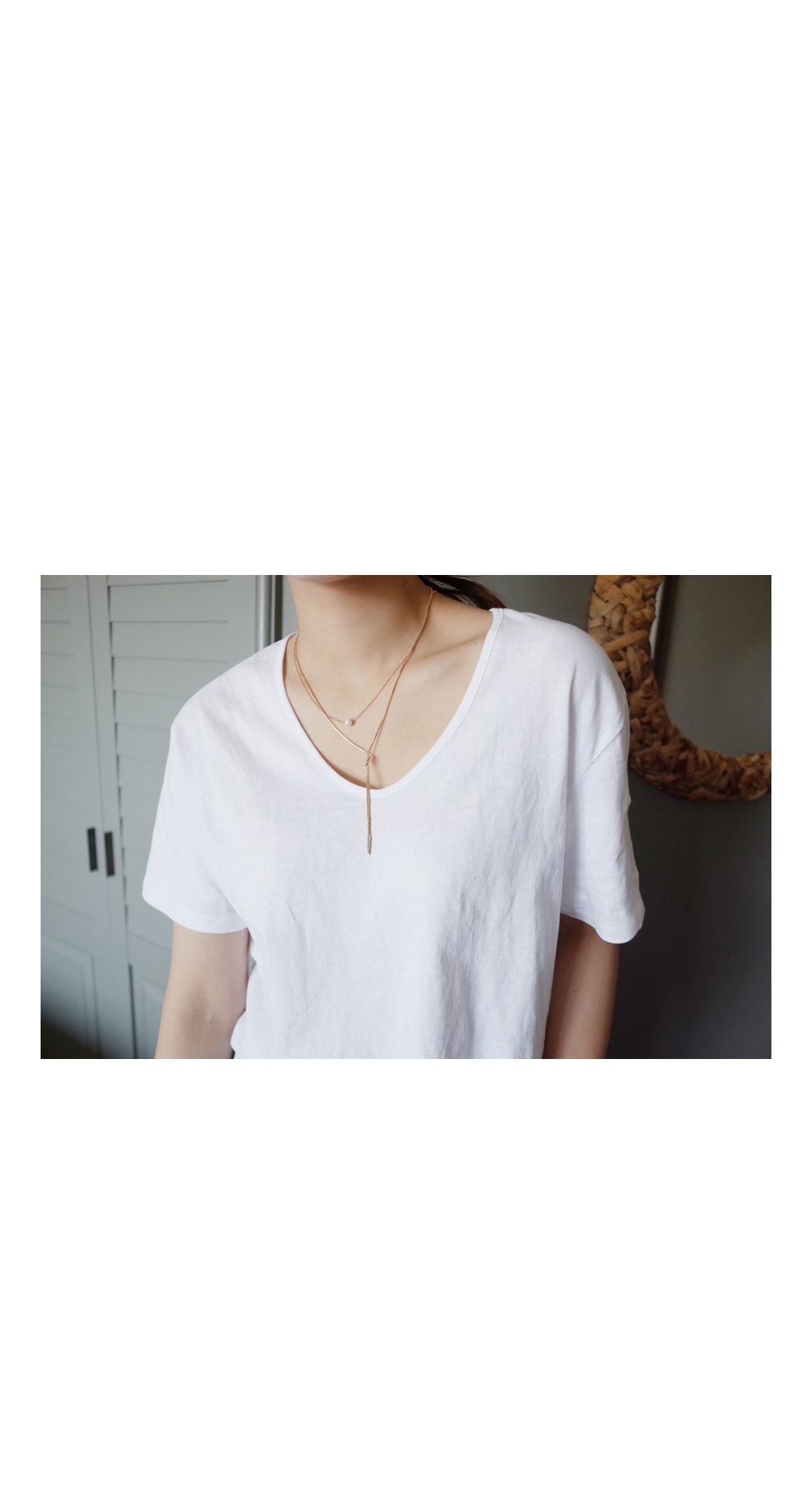 Double necklace ; one color BEST ♥